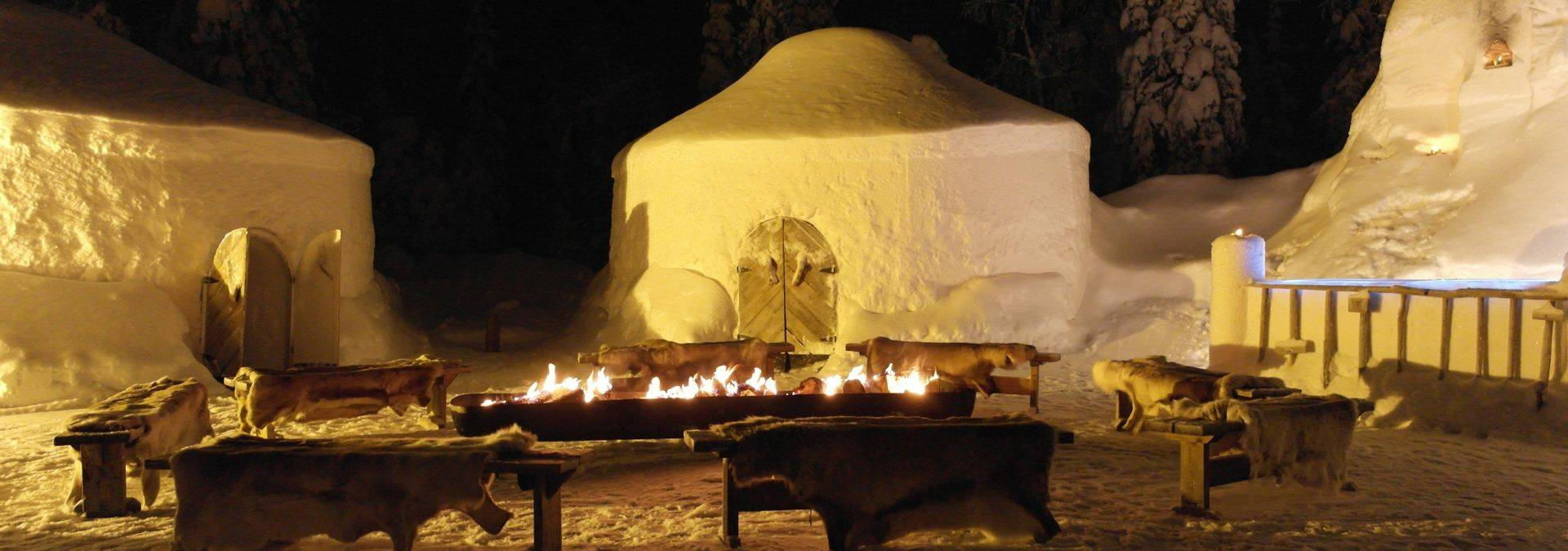 Iisakki Village - igloo night  1,credit Ruka Safaris.JPG