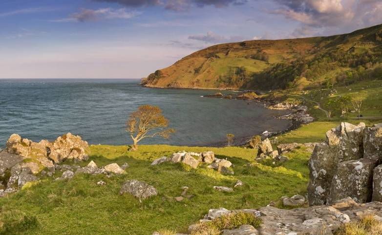 Murlough Bay on the Causeway Coast of Northern Ireland.