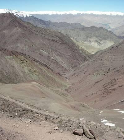 View from Kongmaru La