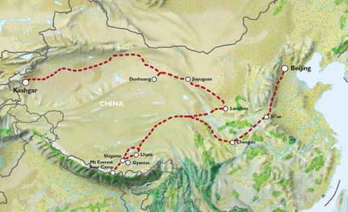 KASHGAR to BEIJING (21 days) China & Tibet Explorer