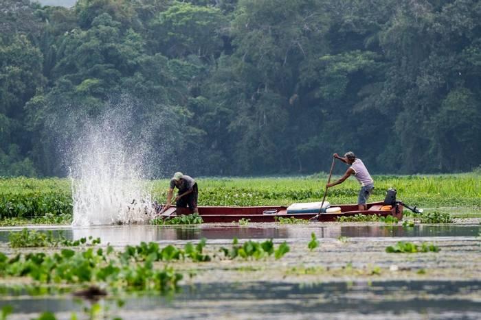 Fishing on Chagres River (Ian Talboys)