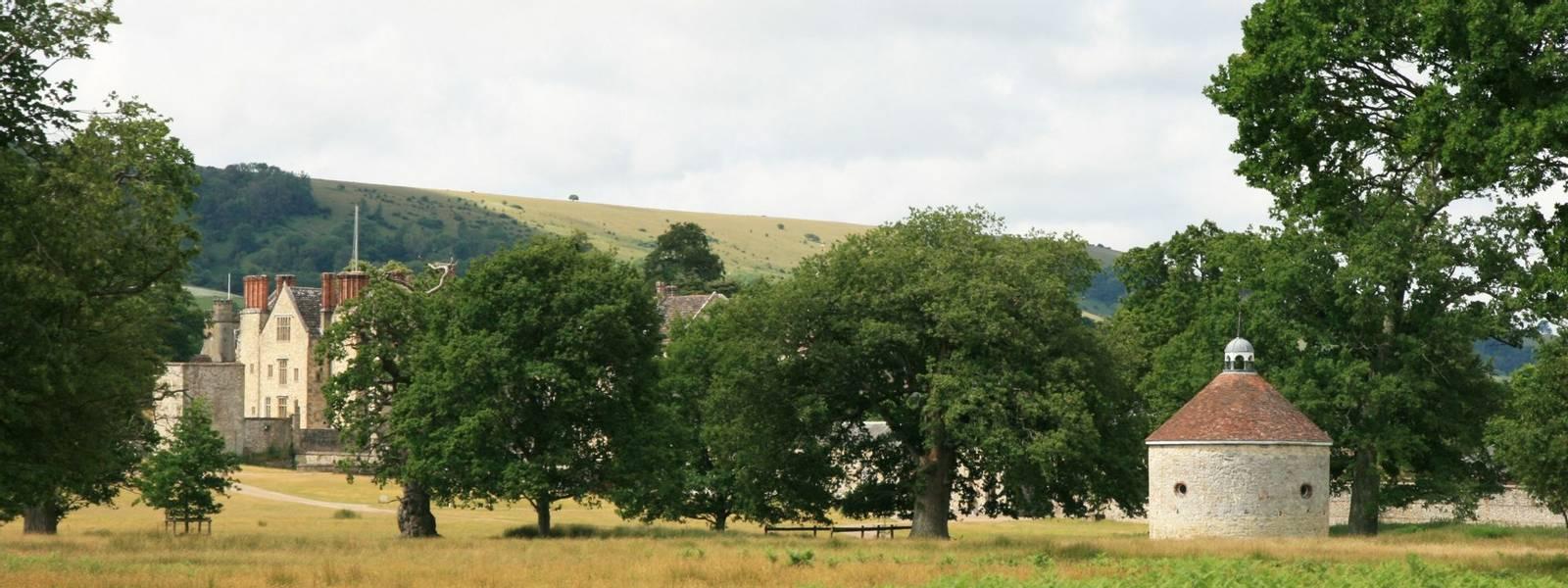 Parham House and Dovecote.JPG