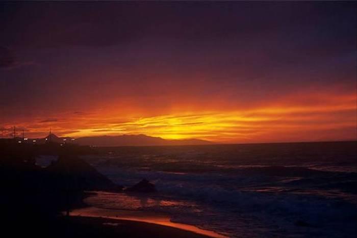 Chania sunset (David Tattersfield)