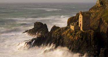 Botallack Mines in West Cornwall.