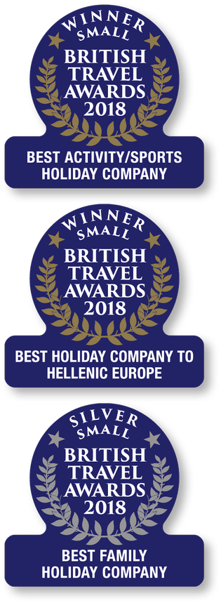 British Travel Awards Website 2017