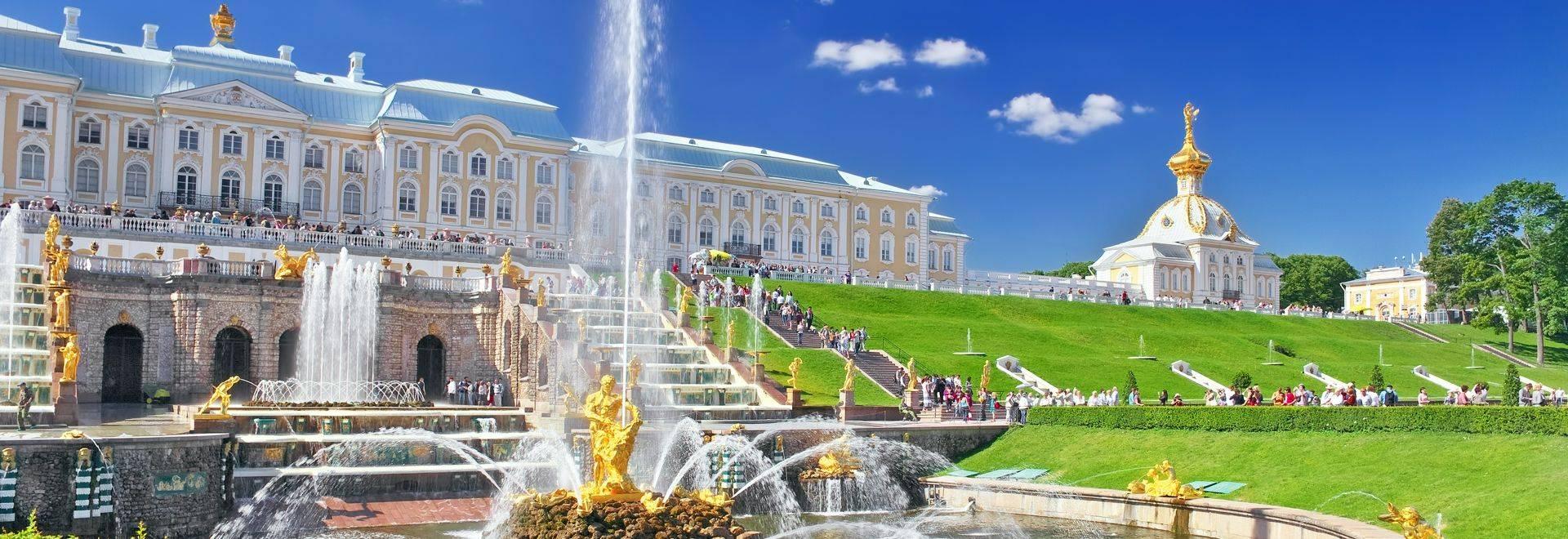 Shutterstock 113793739 Grand Cascade In Pertergof, Saint Petersburg, Russia