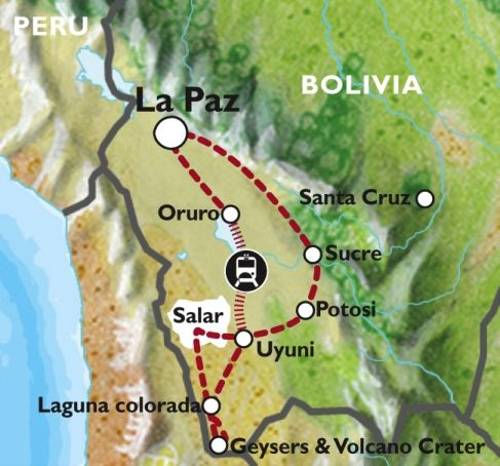 LA PAZ to LA PAZ (11 days) Bolivia Encompassed