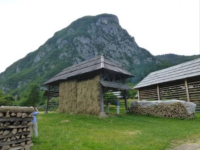 Slovenian Hay Racks (© Kerrie Porteous)