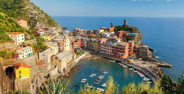 Cinque Terre guided walking holidays, Italy