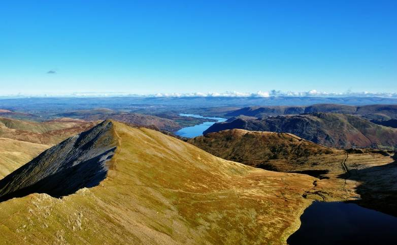 Catstye Cam from the summit of Helvellyn