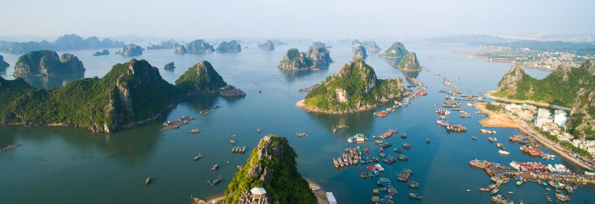 GettyImages 575361453 Beautiful Seascape In Halong Bay, Vietnam