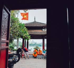 Hanoi by cyclo