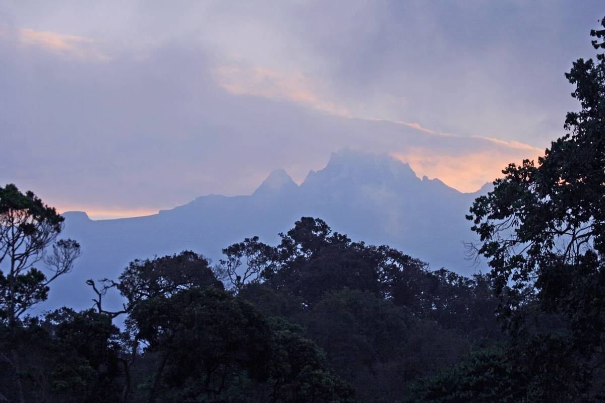 Mount Kenya   Dawn