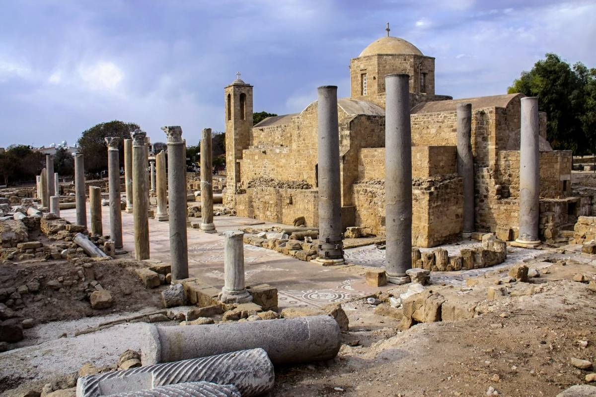 Archaeological Sites of Pafos, Cyprus