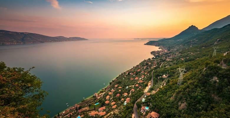 Lake Garda guided walking holidays, Italy