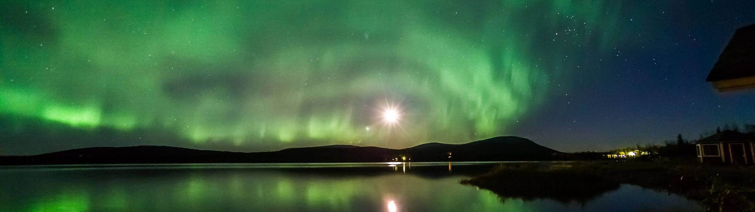 Autumn Northern Lights in Finnish Lapland - Credit Markus Kiili and Visit Finland.jpg