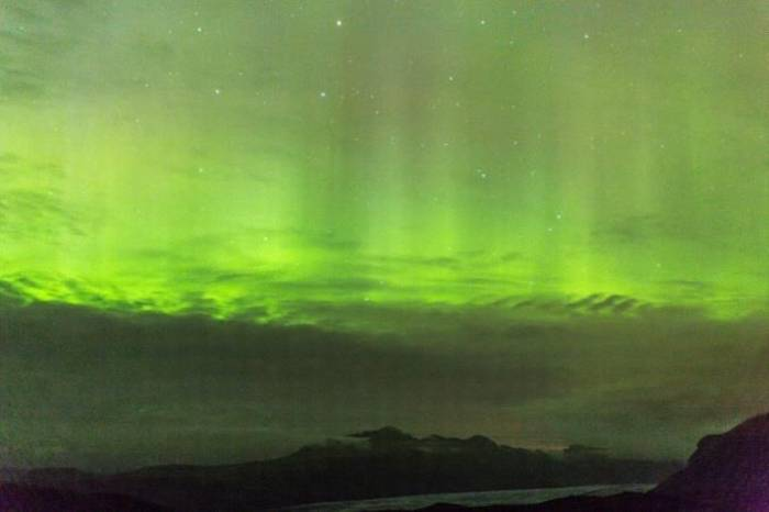 Aurora over Skaftafell (Malcolm Stott)