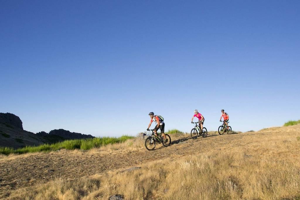 Mountainbiking at Galo