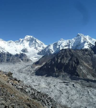 View from Gokyo Ri (5,357m)