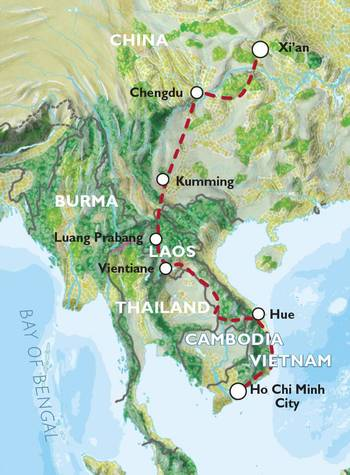 XI'AN TO HO CHI MINH CITY (32 days) Far East Explorer