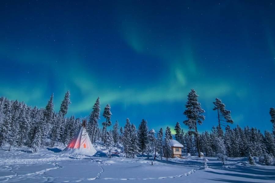 Aurora Snow Doubles Up Again