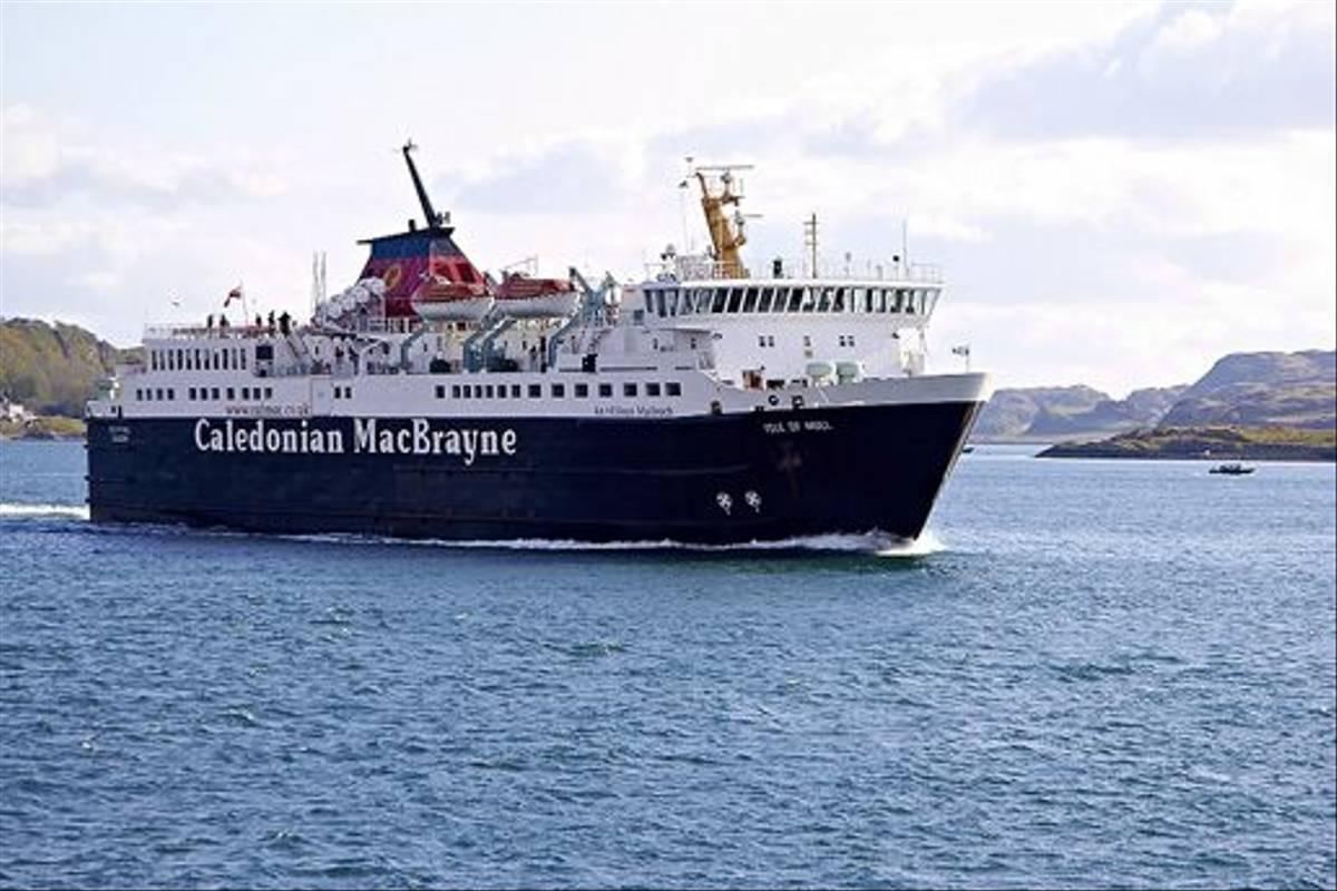 Caledonian MacBrayne ferry (Derek Mills)