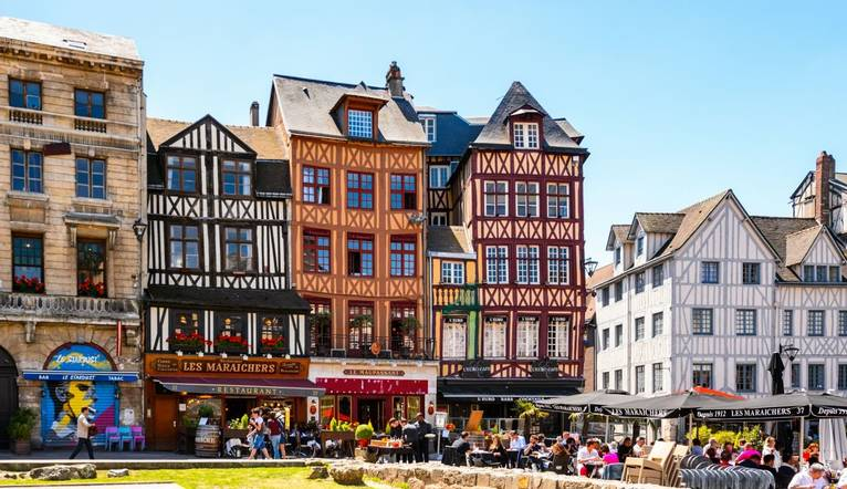 Shutterstock 294202151 Architecture Of Joan'S D'Arc Square In Rouen