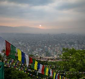 Arrive in Kathmandu
