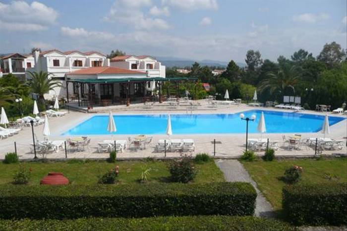 Skala Kallonis Hotel, one of the possible hotels used on this trip