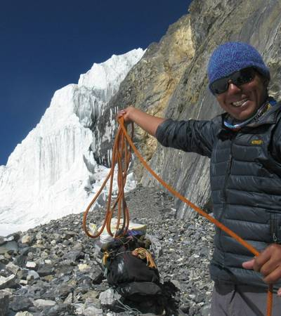 Galden Sherpa on Saribung