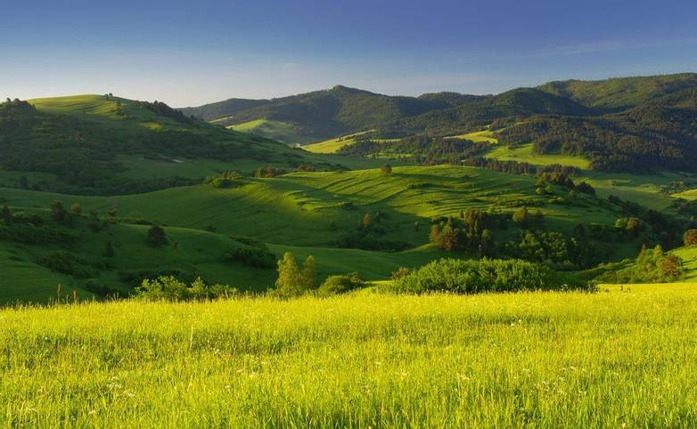 Slovakia Landscape in Pieniny National Park 1.JPG