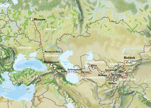 EXPLORATORY - MOSCOW to BISHKEK (55 days) - Ultimate Asia Overland