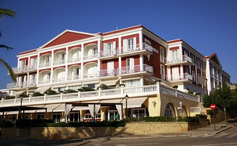 Spain - Menorca - Hotel Port Mahon - exterior.JPG