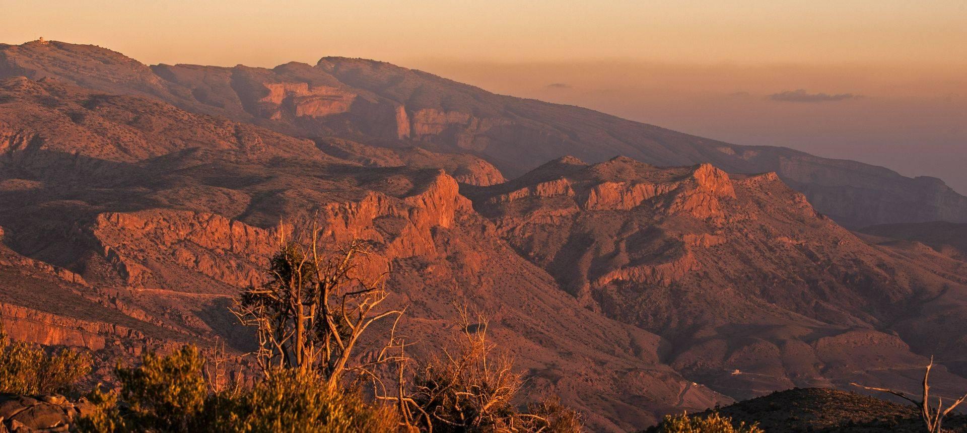 Al Hajar Mountains Oman Shutterstock 359910872