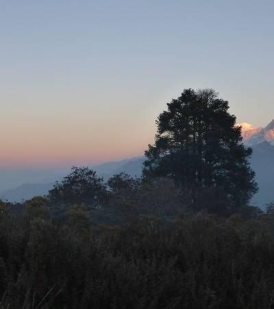 Mountain view from Haju Dobato (3,562m)
