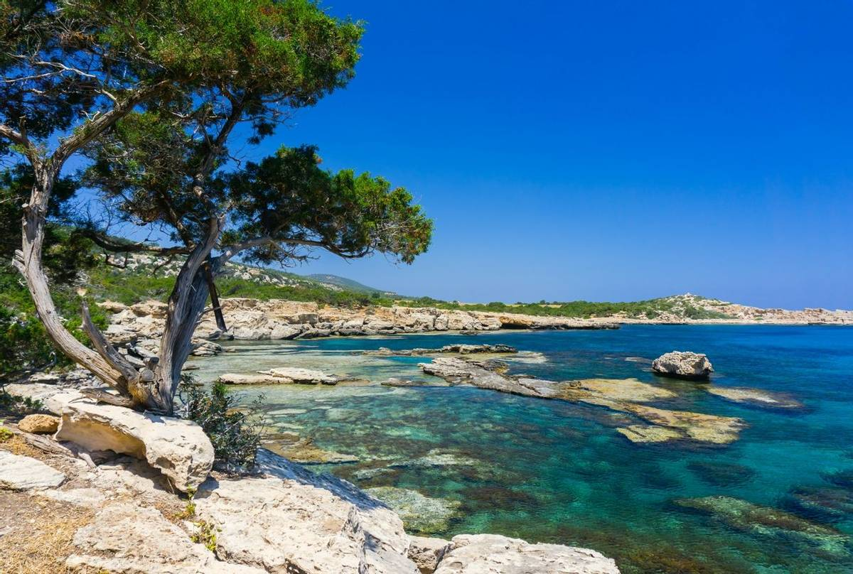 Akamas Peninsula, Cyprus Shutterstock 1107648557