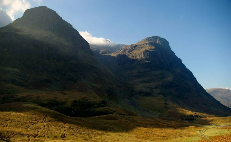 A View Of The Two Sisters in Glen Coe