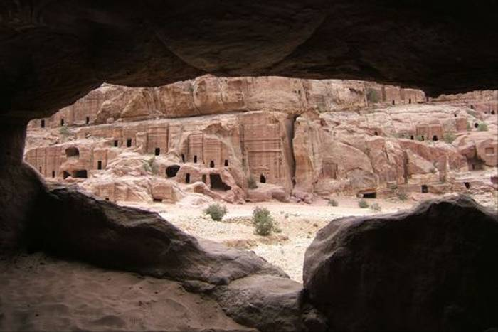 Cave Houses at Petra (Geoff Carr)