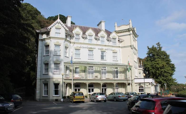 Pembrokeshire Coast Path - Fishguard Bay Hotel Exterior 2, Fishgaurd, Hotel website.jpg