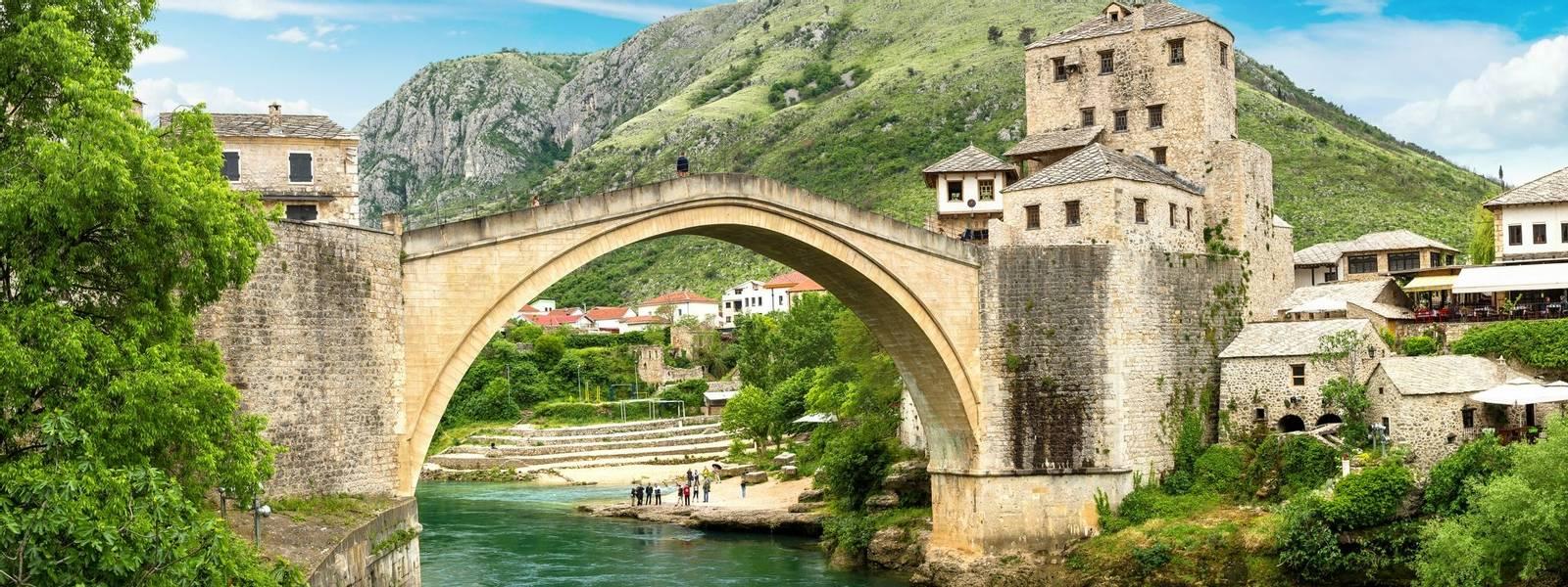 The Old Bridge in Mostar