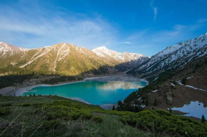 Almaty Lake, Kazakhstan Shutterstock 1089489242