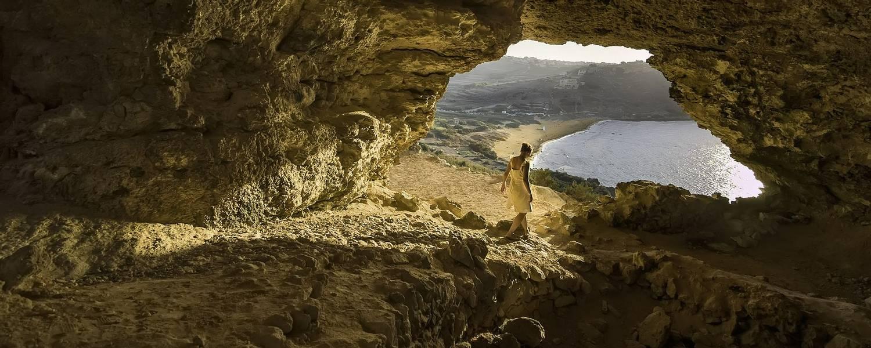 Cave At Ramla   Photo By Daniel Cilia And Visitgozo