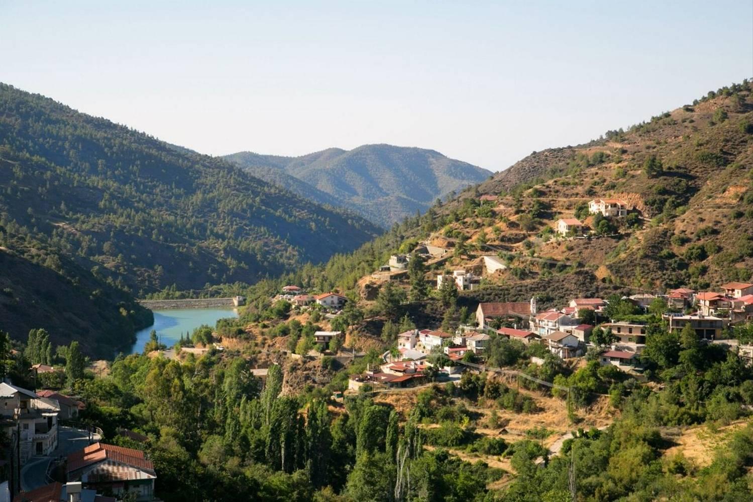 Paysage naturel de Casale Panayiotis environs