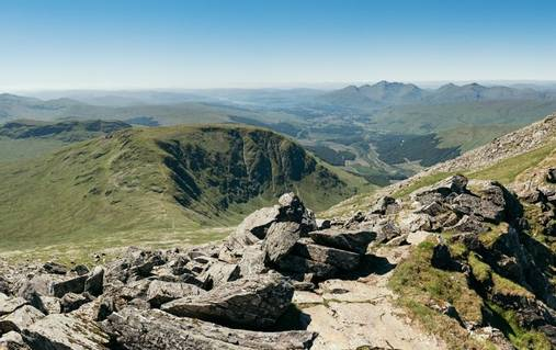 Scottish Highlands Big Mountain Walks II