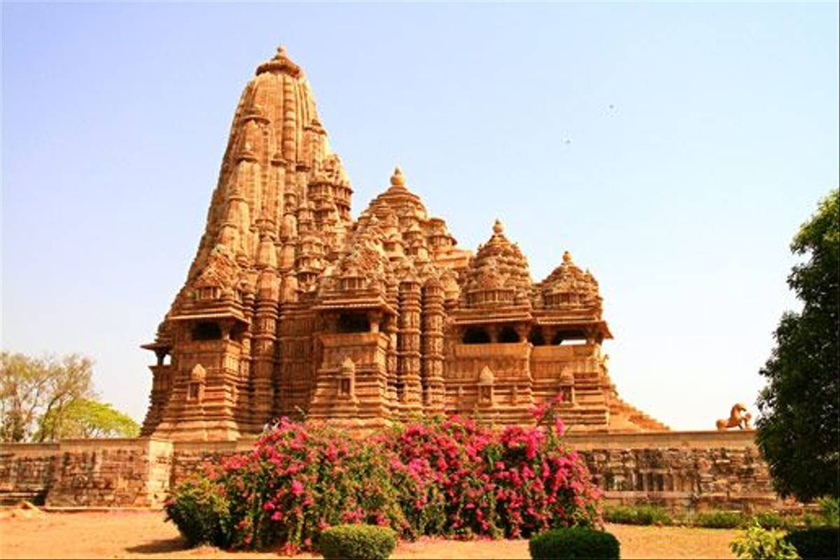 Temple at Khajuraho (Bret Charman)