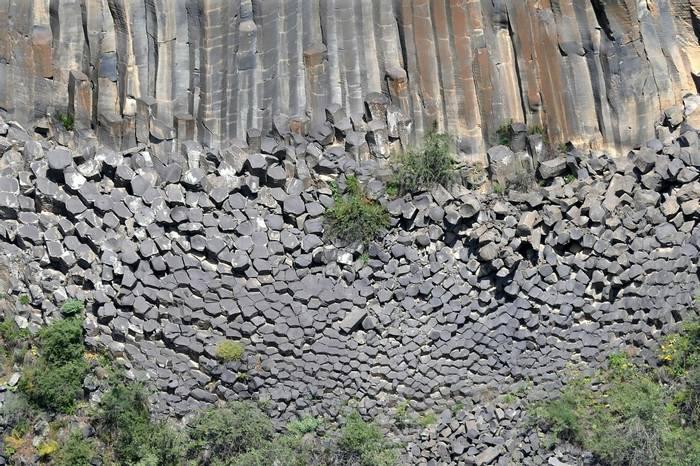 Columnar Basalt by Clive Pickton
