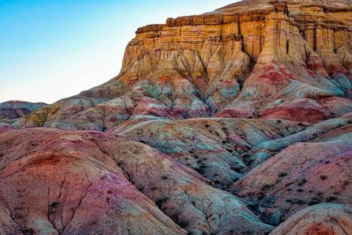 Colourful rock formations, Gobi Desert, Mongolia shutterstock_1066821572.jpg