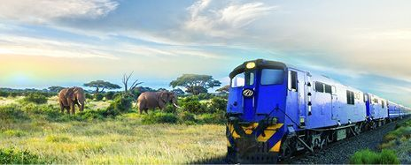 Luxury African Rail Journey & Victoria Falls Adventure