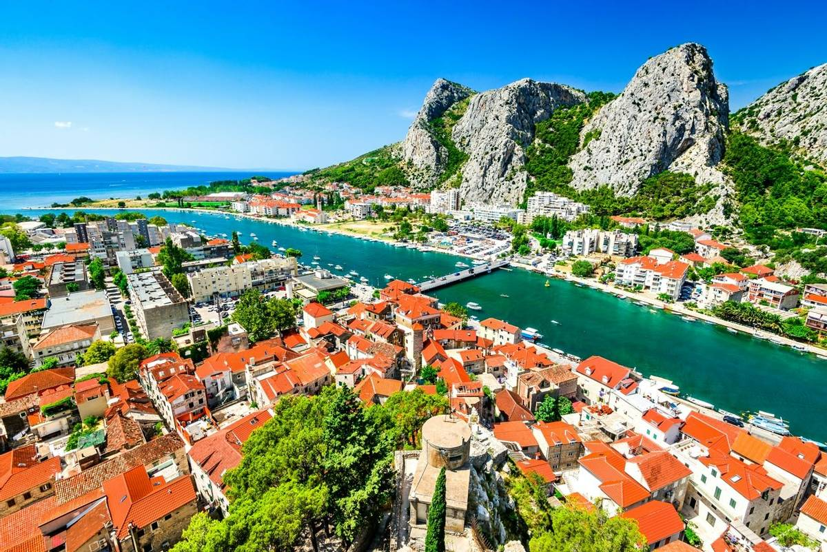 Omis, Dalmatia, Croatia