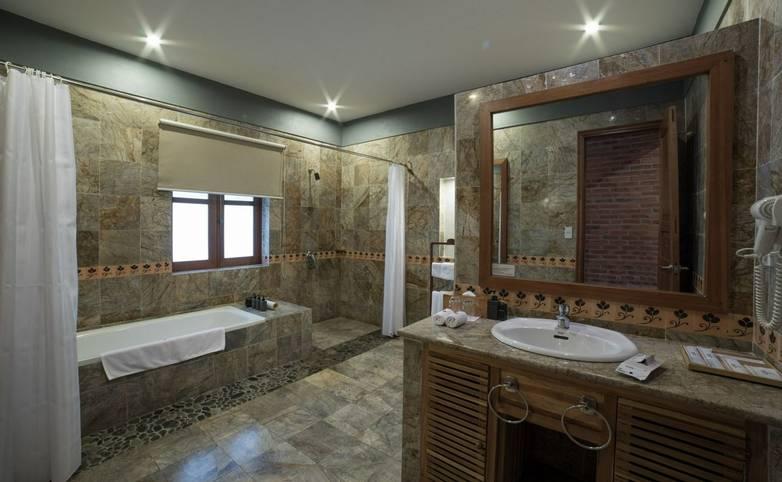 Vietnam - Accommodation - Pilgrimage Village - Deluxe-Bathroom.jpg
